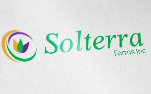 Solterra Farms logo design